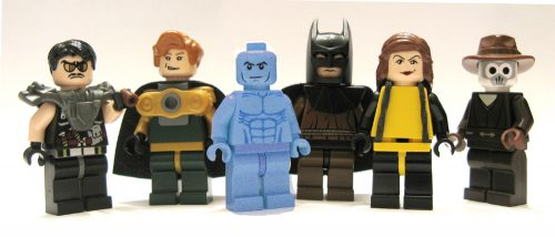 3340260670 72162c9f77 o 500x214 Watchmen Lego Mini Figs
