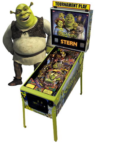 shrek game Shrek Pinball Machine