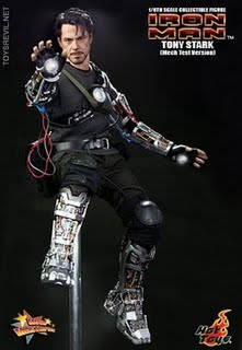 TONY STARK MECH TECH 1/6 Tony Stark (Mech Test Version) by Hot Toys