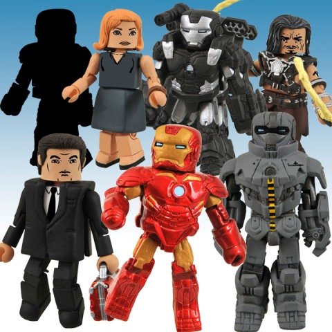 91071 246430 11 Iron Man 2 Mini Mates