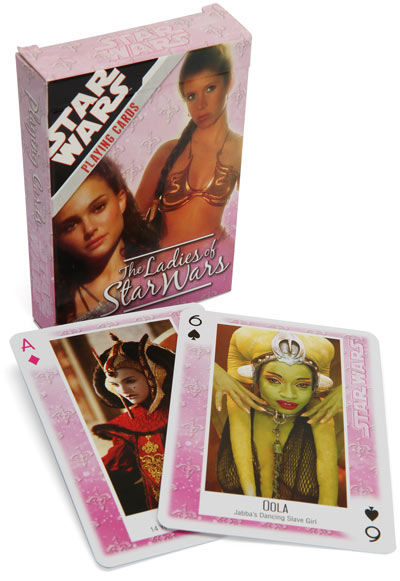 cebd ladies of star wars cards The Ladies of Star Wars Playing Cards