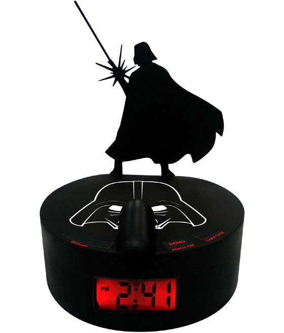 darth alarm clock thumb 560x656 33416 Darth Vader Shadow Alarm Clock