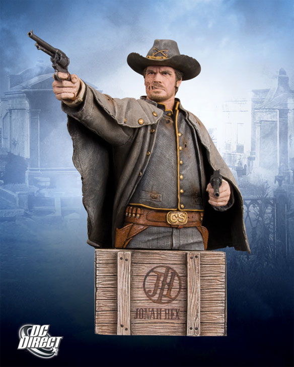 hexbustbig Megan Fox & Josh Brolin Jonah Hex Busts