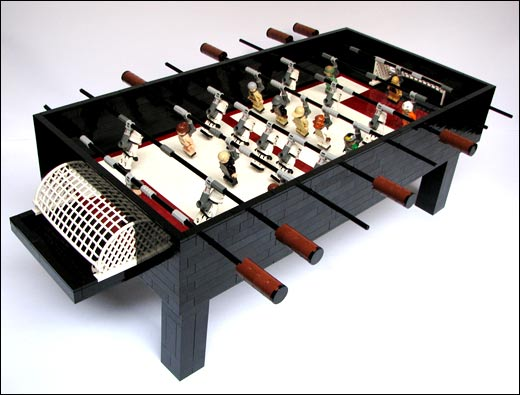 starwarsfoos Lego Star Wars Foosball Table