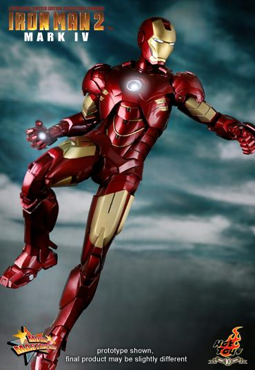 1b12714077414bc8247d754b1 Iron Man 2: 1/6th scale Mark IV Limited Edition Collectible Figurine