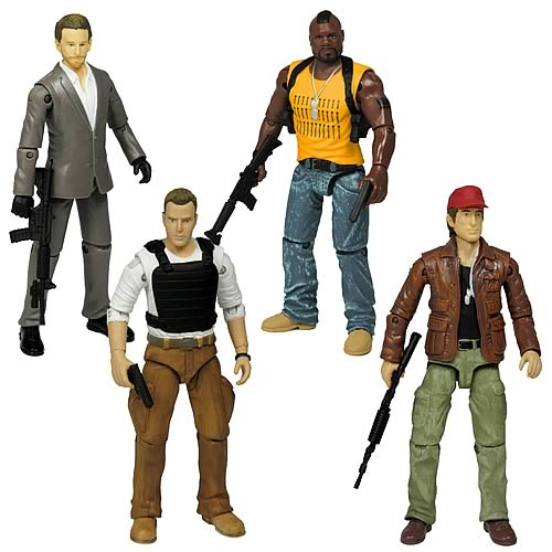 a team action figures 2 A Team 15 Inch Toy Sets
