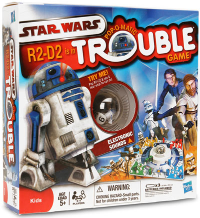 d986 star wars trouble Star Wars R2D2 Trouble Game