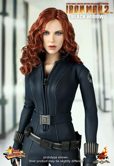 iron man 2 black widow figurine 2 Iron Man 2   1/6th scale Black Widow
