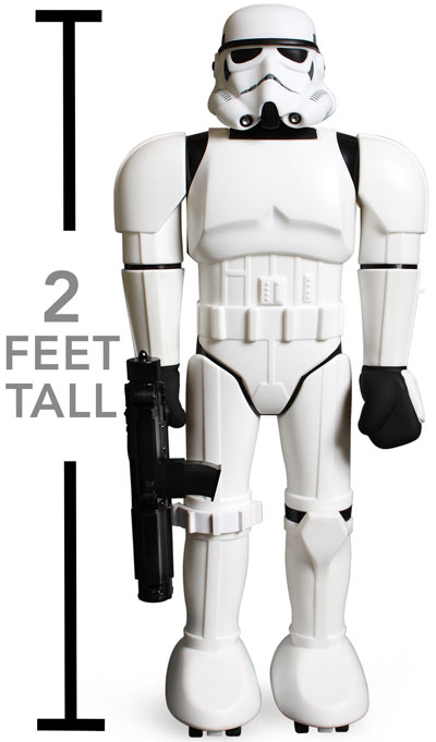 dab2 limited edition giant stormtrooper Limited Edition 24 Stormtrooper Super Shogun