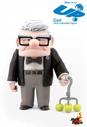 1b UP   7 inches high Carl vinyl collectible figure
