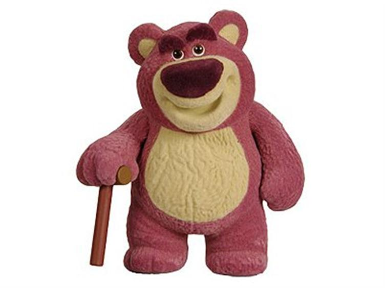 MAT12383 SDCC 2010 Exclusive Pixar Collection Lotso   Toy Story 3