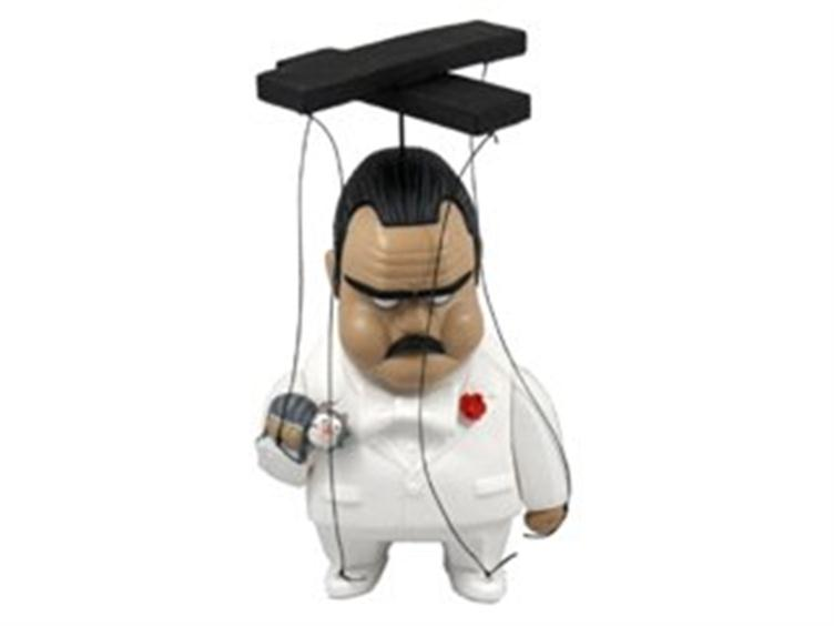 MND10014 The Godfather in White Suit Marionette