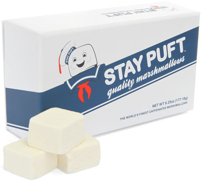 e59b stay puft marshmallows Stay Puft Caffeinated Gourmet Marshmallows