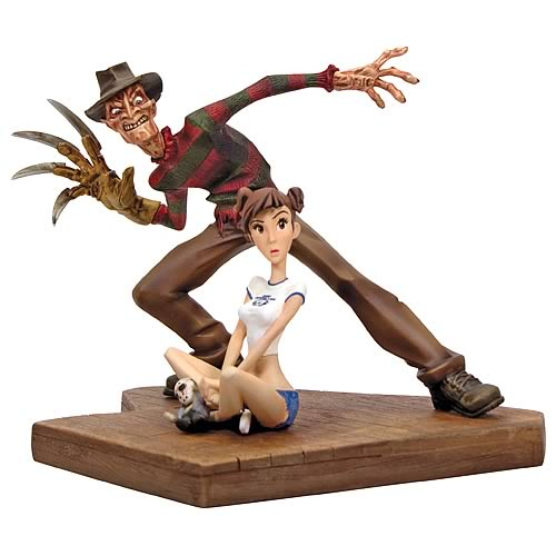 freddy regular Nightmare on Elm Street Freddy Krueger Animated Maquette