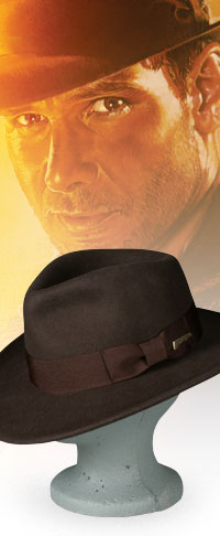 indiana jones wool hat Indiana Jones Fedora / Hat
