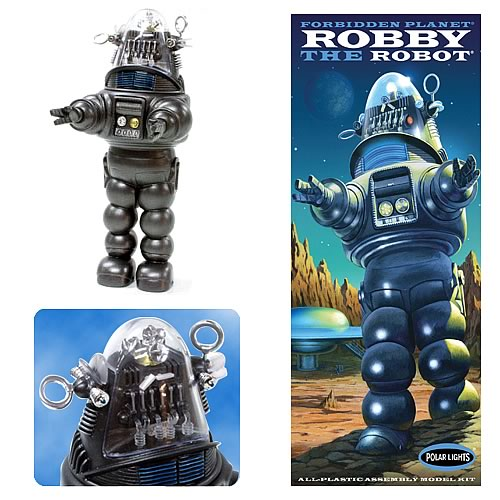 robby the robot Forbidden Planet Robby the Robot Model Kit