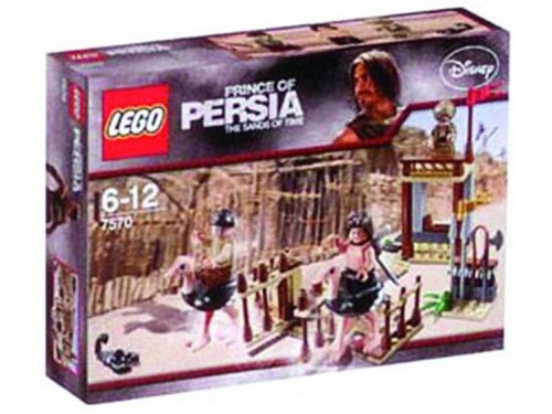sands of time lego 500x375 Lego Prince of Persia   Ostrich Race Set
