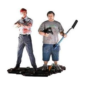 shaun and ed statue Shaun Of The Dead Shaun and Ed Winchester 2 Pack