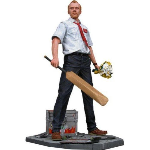 shaun of the dead speaking Shaun of The Dead 12 Talking Action Figure