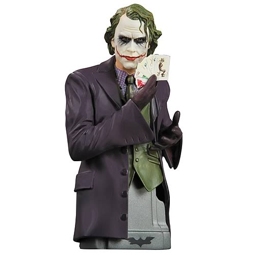the dark knight joker bust The Dark Knight    batman and joker busts