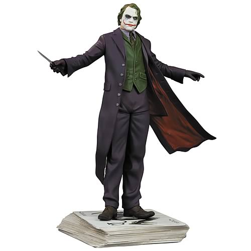 the dark knight joker statue The Dark Knight Batman Statues   Batman And Joker