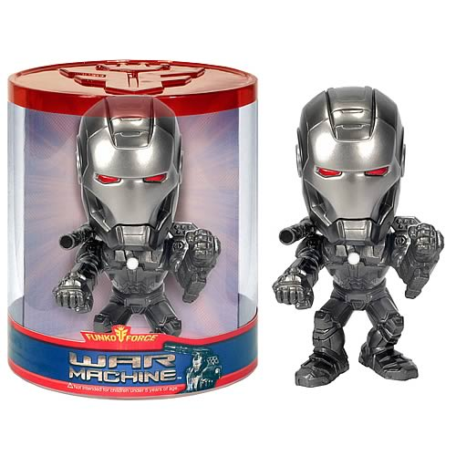 war machine 2 bobble head Iron Man 2 War Machine Funko Force Bobble Head