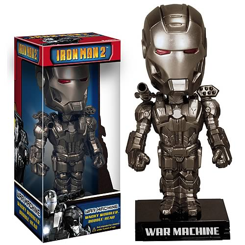 war machine bobble head Iron Man 2 War Machine Bobble Head