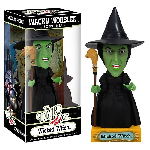 wicked witch bobble head Wizard of Oz Wicked Witch of the West Bobble Head