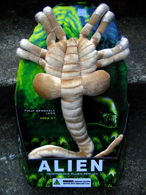 alien facehugger plush replica Alien Life Sized Facehugger Plush