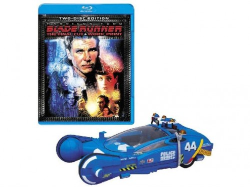 blade runner spinner 500x375 Blade Runner Collectors Box with Spinner Vehicle