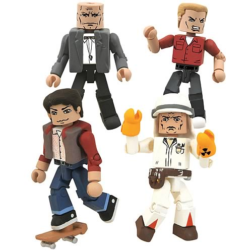 bttf minimates Back to the Future Minimates 25th Anniversary Box Set