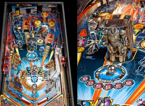 iron man pinball 500x365 Iron Man™ Pinball Machine