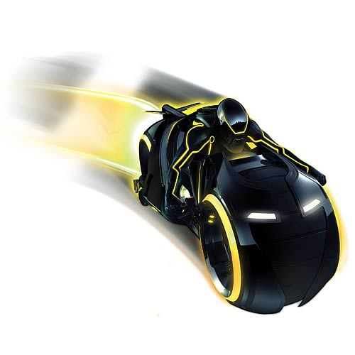 tron light cycle TRON Legacy Deluxe Light Cycle Vehicle