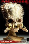 400048 press01 001 100x150 Classic Predator Skull Prop Replica
