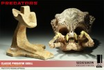 400048 press10 001 150x101 Classic Predator Skull Prop Replica