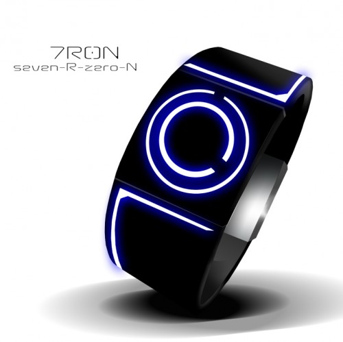 7r0n 500x499 Tron inspired LED Watch
