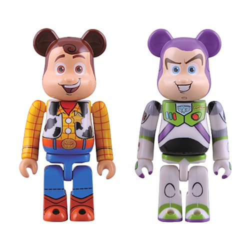 MB288 2 Toy Story 3 Be@rbrick Set