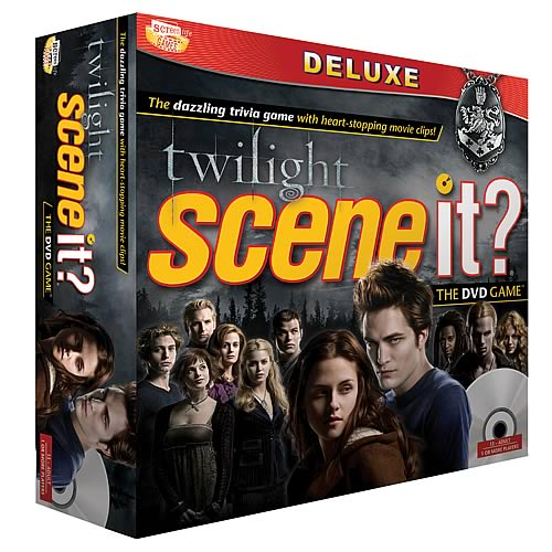 twilight sceneit Twilight Deluxe Scene It? Game
