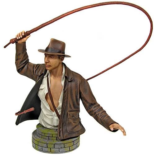 indiana jones bullwhip bust Indiana Jones Mini Bust