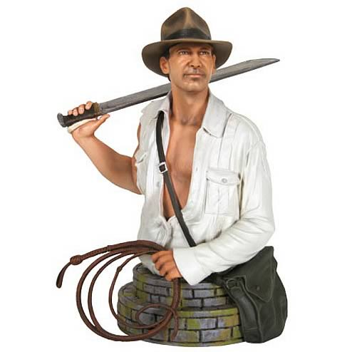 indiana jones machette bust Indiana Jones Temple of Doom Mini Bust