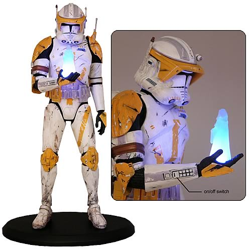 AUTOIMAGES ACSW101lg Star Wars Commander Cody Order 66 Cold Cast Statue