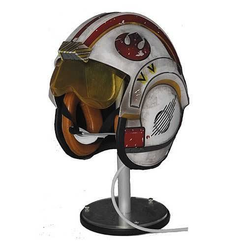 star wars helmet Star Wars Luke X Wing Pilot Helmet A New Hope LE Replica