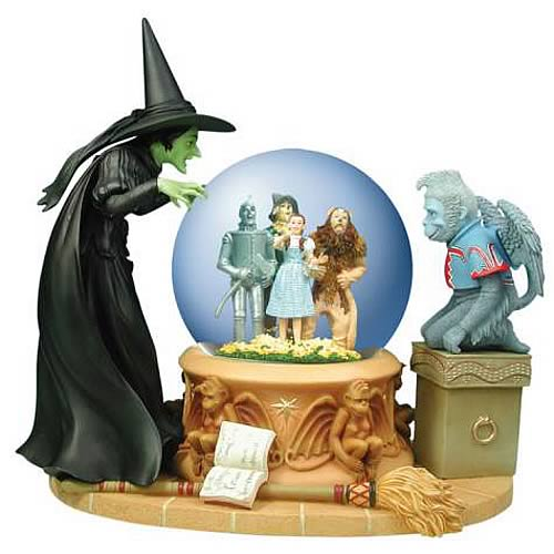 wizard of oz snow glob Wizard of Oz Wicked Witch Crystal Ball Water Globe