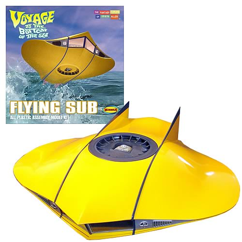 MM817lg Voyage to the Bottom of the Sea Flying Sub 1:32 Model Kit