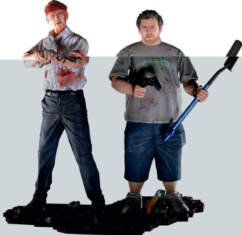 51uzcIhN6dL 500x485 6 Inch Shaun of the Dead Action Figure 2Pack