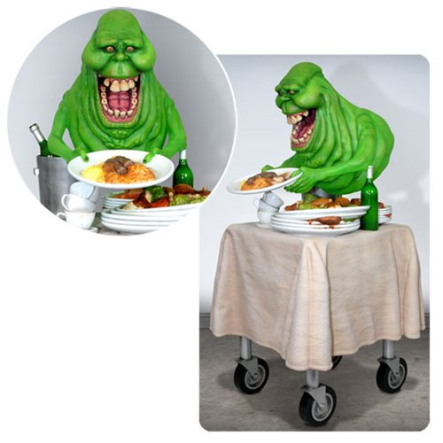 WC9354lg Ghostbusters Slimer 1:4 Scale Statue
