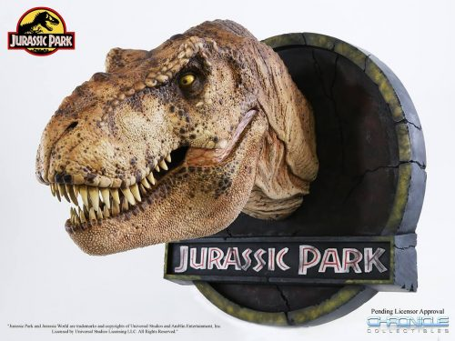 Chronicle Jurassic Park T Rex Bust 001 500x375 Chronicle Jurassic Park T Rex Bust 001