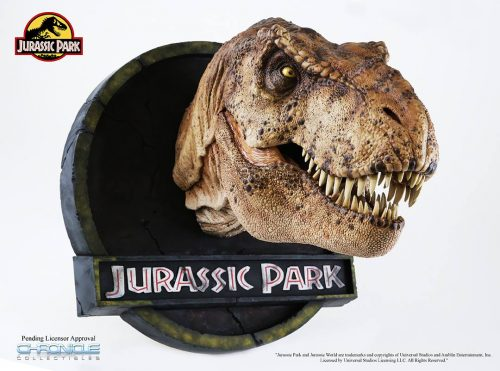 Chronicle Jurassic Park T Rex Bust 002 500x371 Chronicle Jurassic Park T Rex Bust 002