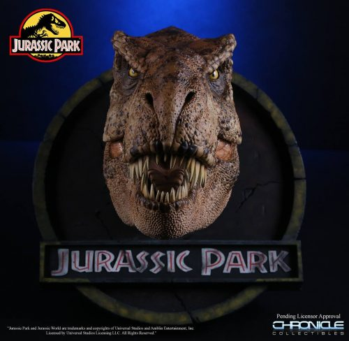 Chronicle Jurassic Park T Rex Bust 003 500x488 Chronicle Jurassic Park T Rex Bust 003
