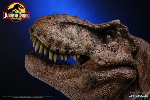 Chronicle Jurassic Park T Rex Bust 006 500x333 Chronicle Jurassic Park T Rex Bust 006